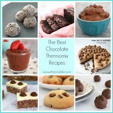 thermomix cuisine the best chocolate thermomix recipes thermobliss