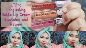 Lipstik Lt Pro Lip lipstick review lt pro longlasting matte lip