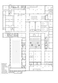 Dance Studio Floor Plan Gallery Of With An Open Space Beijing Institute Of