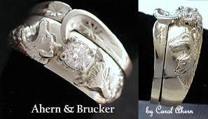 wolf wedding rings ahern brucker wolf wedding collection