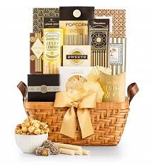 food baskets delivered heart of gold gift basket gourmet gift baskets a golden