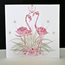 wedding card for groom pink flamingo groom wedding card decorque cards