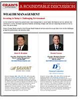 round table wealth management crain s custom media services roundtable discussions