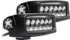 rigid industries led driving lights amazon com rigid industries 91531 srq2 white driving led light