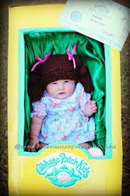 Baby Doll Halloween Costume Ideas Cutest Cabbage Patch Doll Costume Baby Cabbage Patch