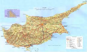Show Me A Map Of England by Cyprus Map U2013 Detailed Map Of Cyprus U2013 Town Maps