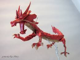 18 incredible eastern style origami dragons origami me