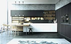 cuisine noir mat et bois cuisine noir mat et bois cuisine nature