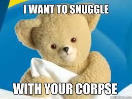 Snuggle Bear Meme - creepy snuggle bear memes quickmeme