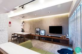 10 most voted hdb condo homes living rooms cement and room