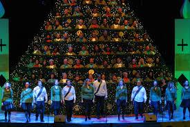 singing christmas tree 4 tickets sat dec 7 5pm halfoffdeals