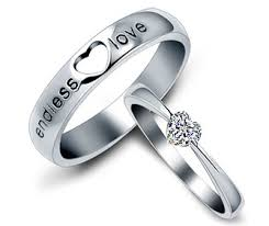 cheap wedding rings sets for him and heartbeat unique matching tungsten wedding bands set for sale