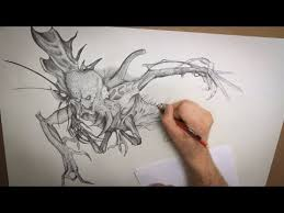 monster drawing techniques stan winston creatures preview