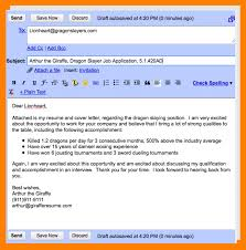 Sample Email Cover Letter With Resume by Resume Email Format Resume Email Sample Resume Email Cover Job