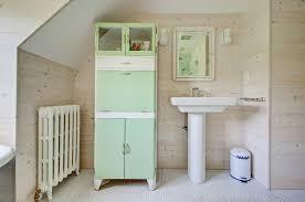 Cherry Bathroom Wall Cabinet Bathroom Wall Cabinet Cherry With Farmhouse Wood Panel Wall