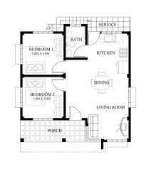 Floor Plans For Bungalow Houses 3 Bedroom Bungalow House Designs 33 Best Floor Plans Images On