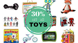 target offering 30 discount on 30 toys at target today only southern savers
