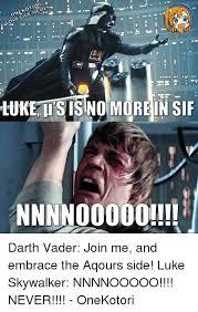 Vader Meme - memes live love lukeatsisino morein sif nnnnooooo darth vader