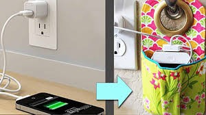 stylish u0026 simple diy will change how you charge your phone forever