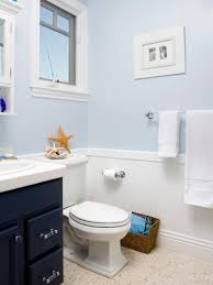 Beach Themed Bathroom Mirrors by Bathroom Narrow Beachy Bathroom Spaces Decoration With Blue Wall
