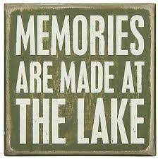 Home Decor Plaques Rectangle Lake Home Décor Plaques U0026 Signs Ebay