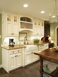 photos hgtv custom tile in green french country kitchen clipgoo