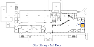Floor Plan Of A Library by Find A Room In The Library Request Forms Olin Library