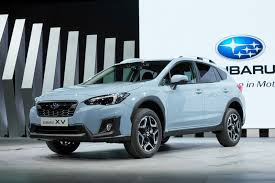 2017 subaru crosstrek green 2017 geneva motor show 2018 subaru xv kicks off with new platform