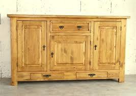 meuble cuisine en pin buffet de cuisine en pin massif finest meuble cuisine en pin pas