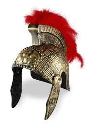 Halloween Costumes Soldier Roman Greek Soldier Helmet Plastic Plastic Accessories