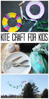 kite craft making a kite with a paper plate the country chic