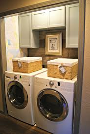 backyards laundry closet blessed bles laundryroom install in