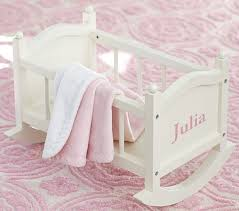 Wooden Doll High Chair Doll Cradle Pottery Barn Kids