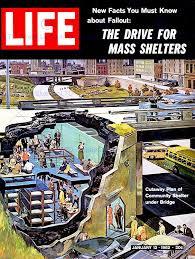 amazon com vintage magazine cover fallout nuclear war community