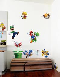 super mario bros large wall decals u2013 blik
