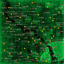 Fallout 3 Bobblehead Locations Map by Fallout 4 Map Complete Images Reverse Search