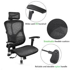 Who Invented The Swivel Chair by Amazon Com Argomax Mesh Ergonomic Office Chair Em Ec001