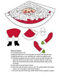 5 best images of printable santa labels for crafts free gift