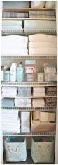 creative ways to organize a linen closet or cabinet bhg home