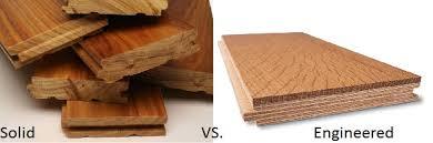 engineered wood flooring vs hardwood with solid