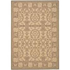 Medallion Outdoor Rug Tan Medallion Outdoor Rugs Rugs The Home Depot