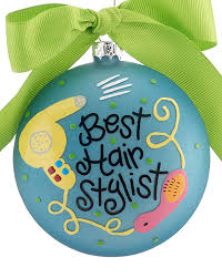 best hair stylist personalized ornament