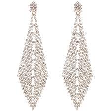 chandelier earring mood by jon richard oversized chandelier earring sale