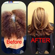 before and after by ryan austin schneider at salon lofts in