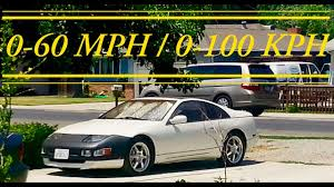 modified nissan 300zx nissan 300zx 0 60 acceleration youtube