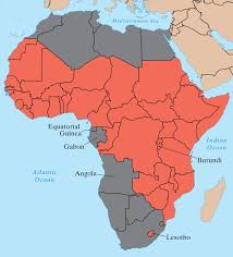 africa map before colonization what makes countries rich or poor by jared the new