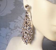 clip on chandelier earrings 36 best clipon earrings images on swarovski crystals