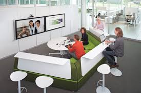 media scape workplace clean design and office furniture