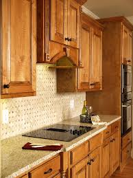 kitchen backsplash oak cabinets interior design