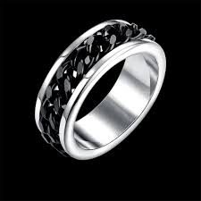 mens stainless steel rings fashion rings men trendy flower stainless steel party tgr013 a 8